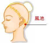 眼精疲労と頭痛のツボ
